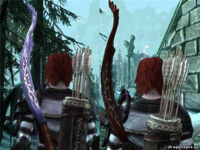 Новые луки для Dragon Age:Origins Слеза Уртэмиэль, скриншот 2