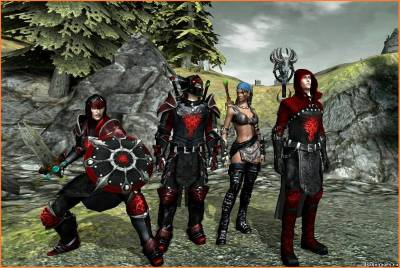 SG's Dragon Knight Armour Pack, скриншот 1