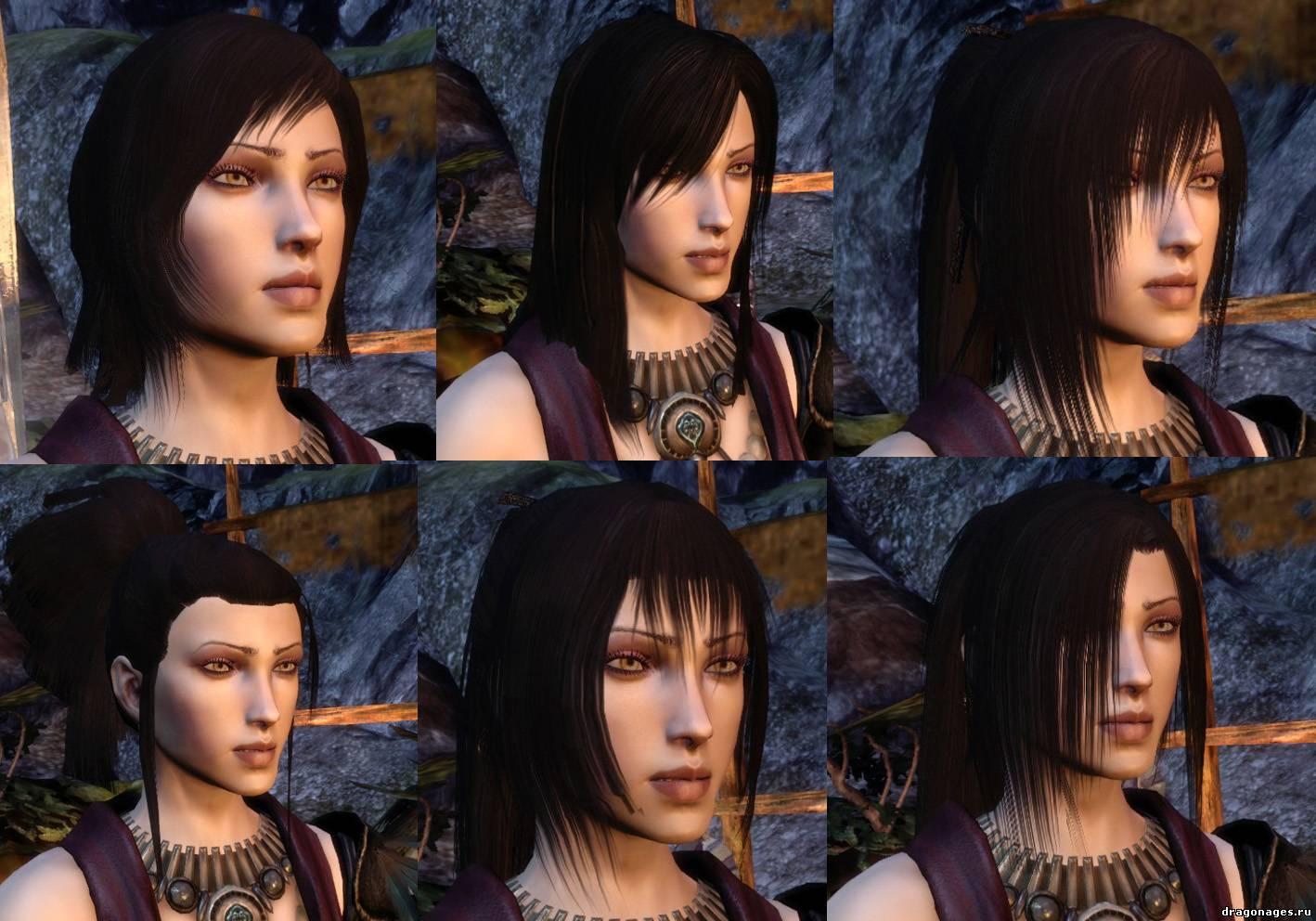 Dragon age новые прически для морриган
