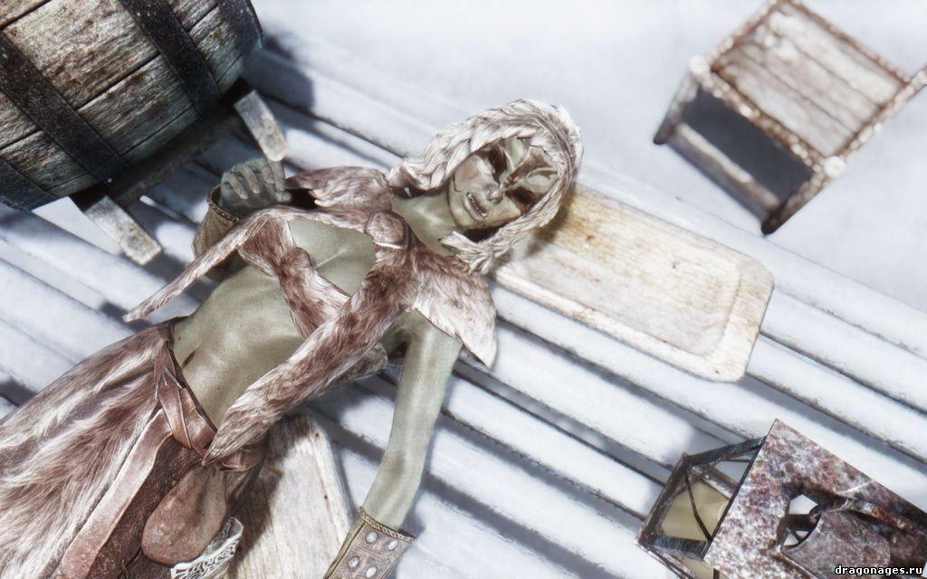 HD сексуальные текстуры девушек в Skyrim, превью