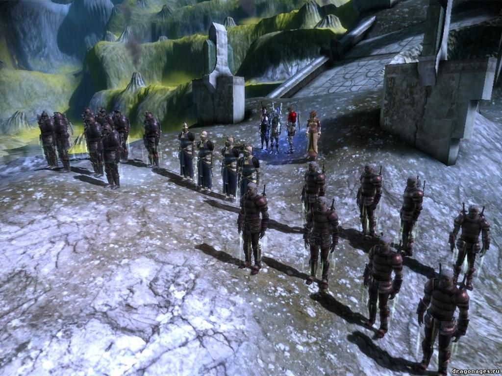 Армия Кунари для Dragon Age: Origins, превью