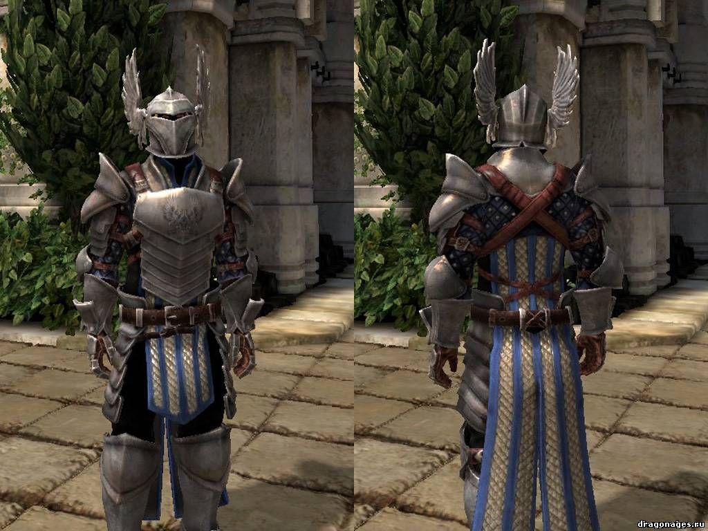 Броня Уорден полная версия для Dragon Age 2, превью