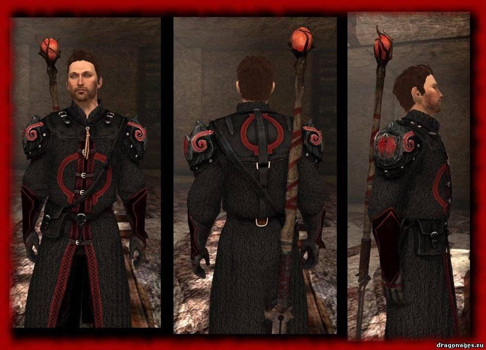 Доспех Малкольма для Dragon Age 2, превью