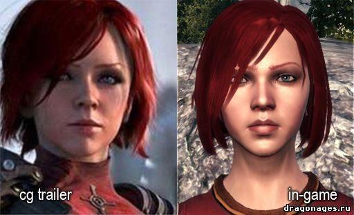 Красивая Лелиана в Dragon Age: Origins, превью