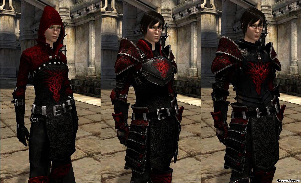 Комплект брони Дракона для Dragon Age 2, превью