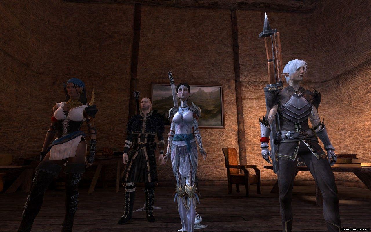 Переодеть компаньонов в Dragon Age 2, превью