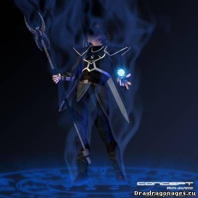 Новая броня для мага в Dragon Age: Origins, превью