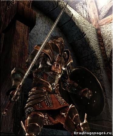 Warden Black Massive ретекстура брони для Dragon Age: Origins, превью