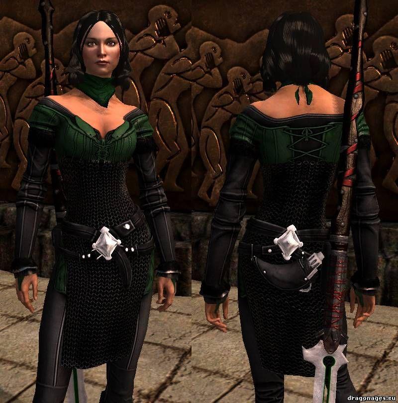 Ретекстура брони Бетани для Dragon Age 2, превью