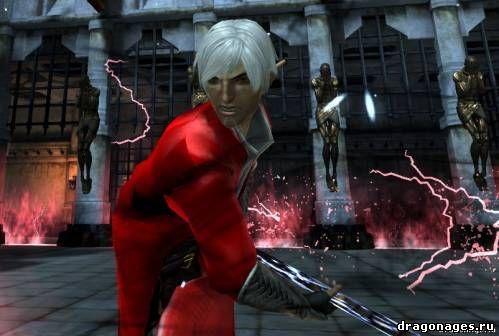 Фенрис в роли Данте в Dragon Age 2, превью
