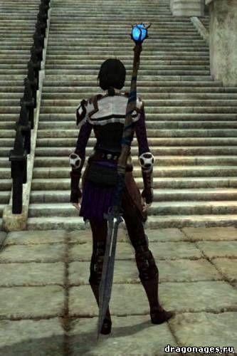 Набор ретекстуров доспехов и оружия для Dragon Age 2, превью