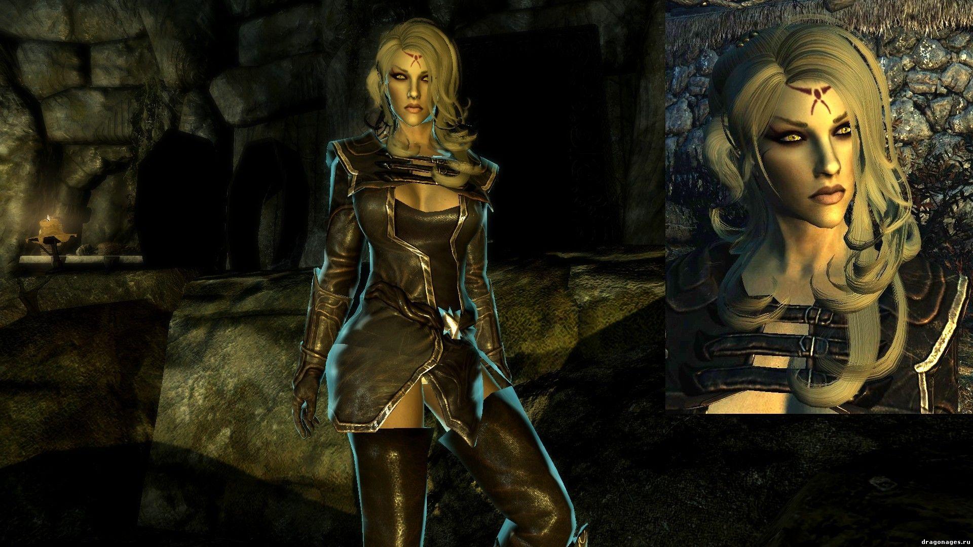 Сексуальная Юстициар Капринд компаньен для Skyrim, превью