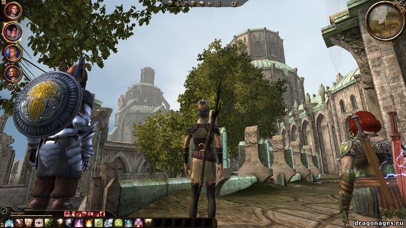 Новые квесты для Dragon Age: Origins Hilltop under siege[rus], превью