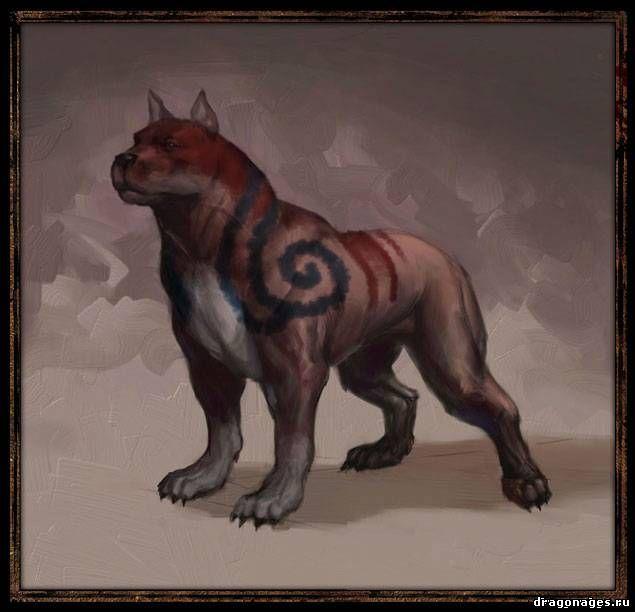 Кровавый мабари для Dragon Age 2, превью
