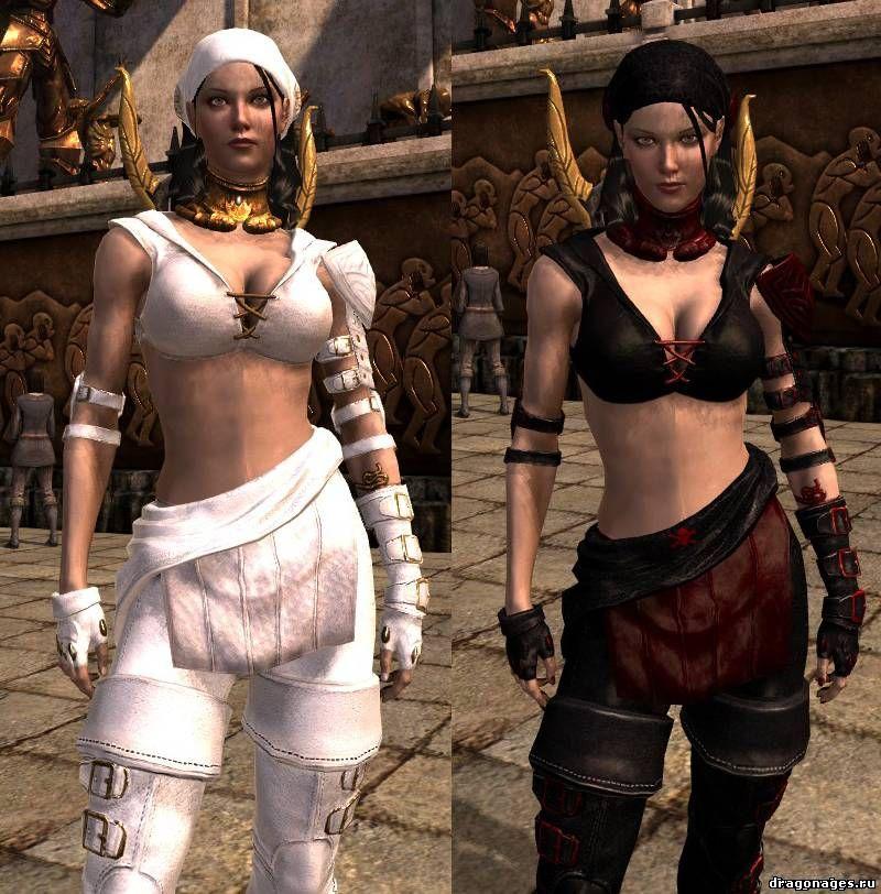 Ретекстура брони Исабеллы для Dragon Age 2, превью
