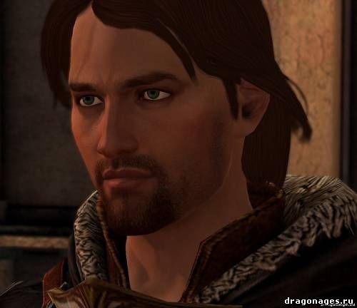 Новое лицо Себастиана Веля в Dragon Age 2, превью
