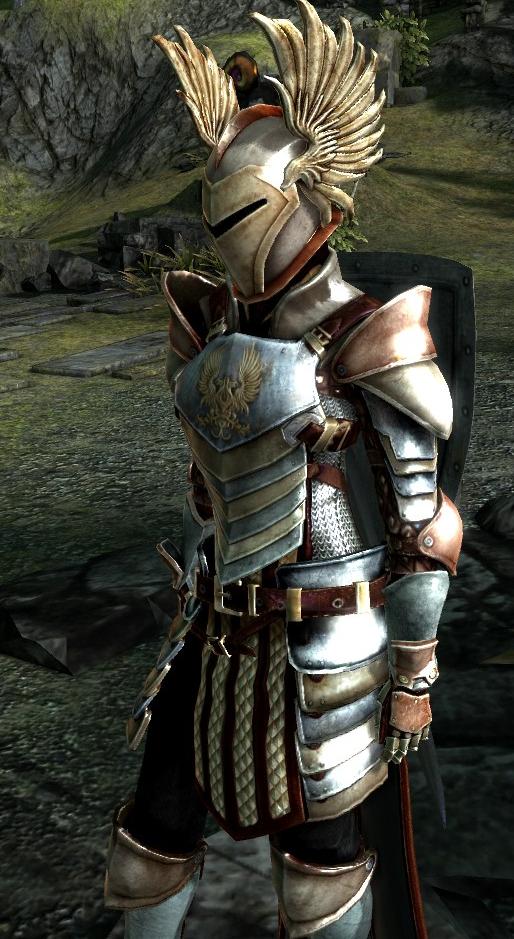 Ретекстура доспехов Серых стражей для Dragon Age 2, превью