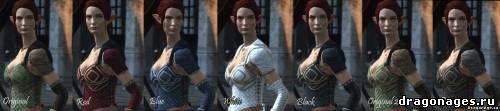 Dragon Age II Клеймо убийцы - Новые цвета брони для Таллис., превью