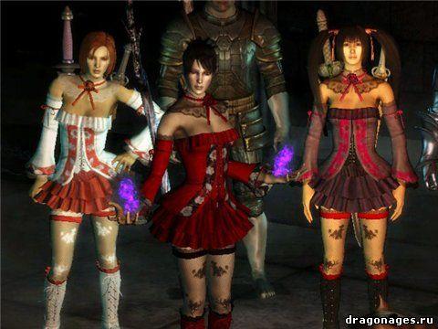 Сексуальные юбки Эмми для Dragon Age: Origins, превью