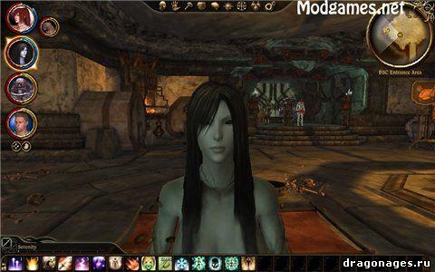 Новый компаньон для Dragon Age: Origins Хозяйка Леса, превью