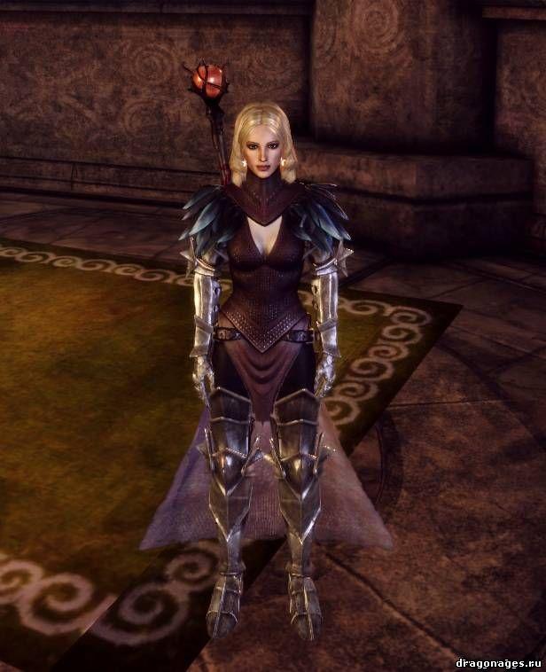 Роба Флемет для Dragon Age: Origins из Dragon Age 2, превью