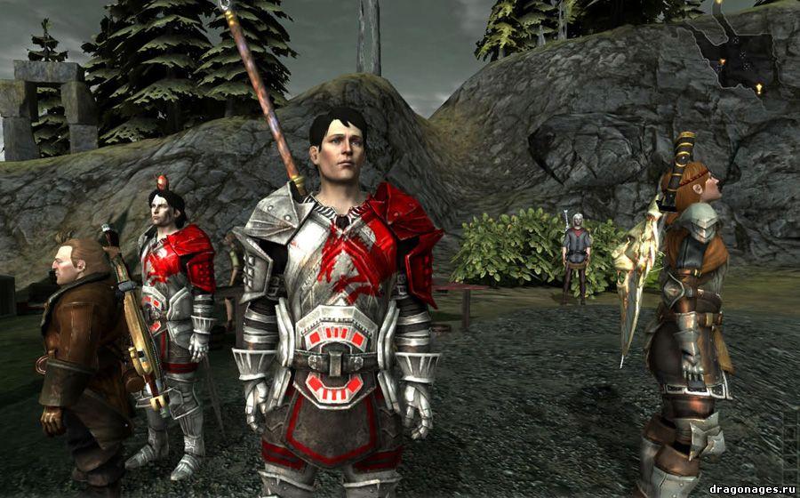 Одежда сопартийцев для Dragon Age 2. Этот мод позволяет надевать любую брон
