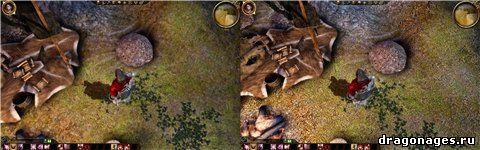 Улучшенная графика в Dragon Age: Origins, превью
