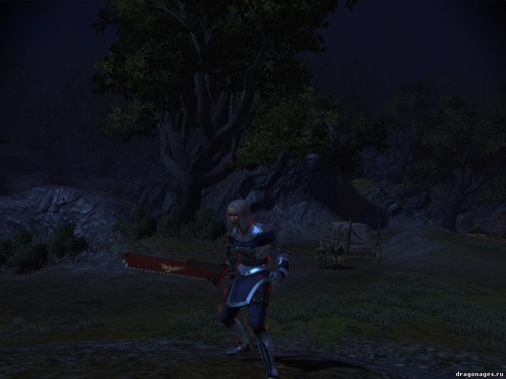 Оригинальный цепной меч, превью