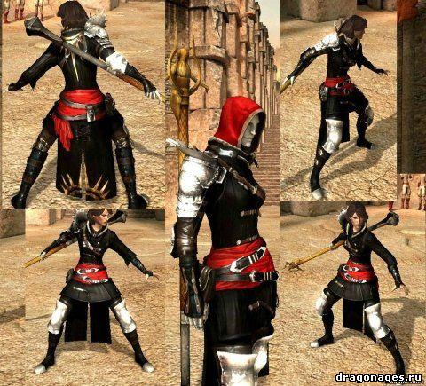 Fugitive Armor Set retexture/Ретекстур сета Беглеца, превью