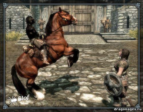 Теперь в Скайриме будут красивые лошади, превью