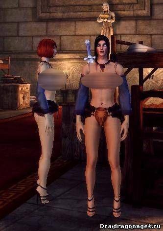 Сексуальные магические робы для Dragon Age: Origins, превью