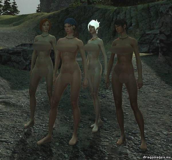 Обнаженные женские тела в Dragon Age 2, превью