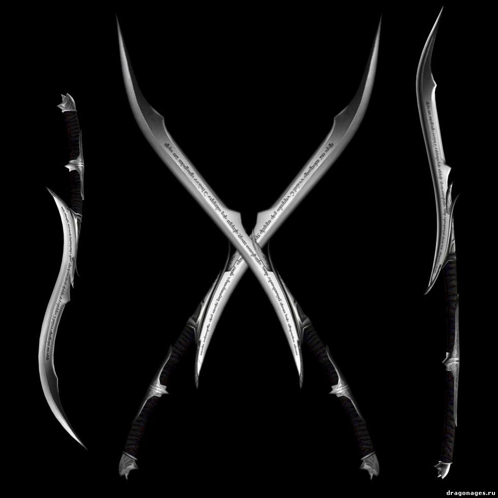 Эльфийское рунное оружие, превью