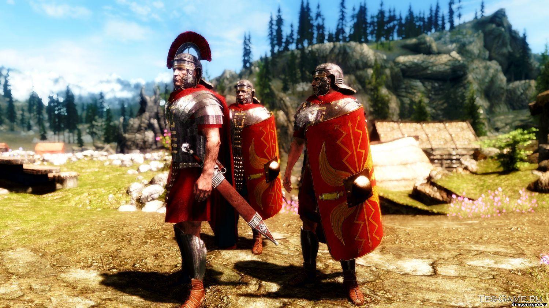 Римский Легион в Скайриме, превью