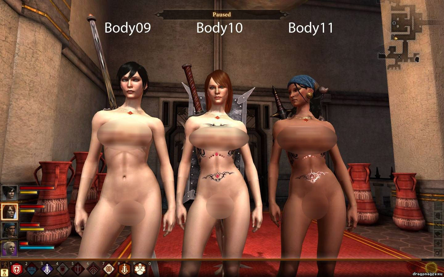 Dragon age 2 naked mod porn video