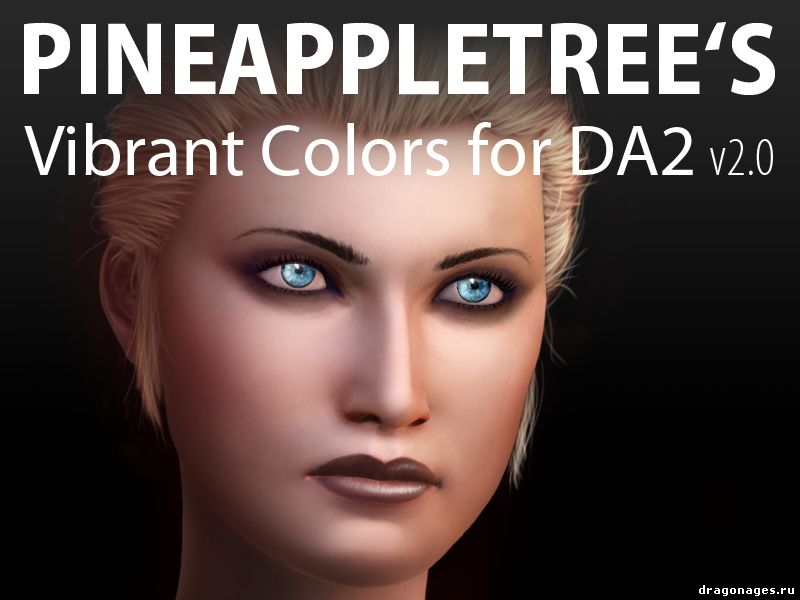 Pineappletree s Vibrant Colors for DA2, превью